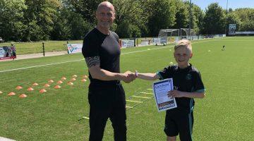 Certificaat Pro talent training Finn 2
